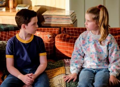 Watch Young Sheldon Season 2 Episode 10 Online