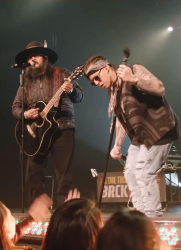 Rapping Native Americans - Yellowstone Season 2 Episode 8