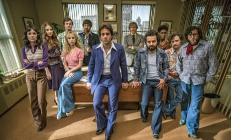 The Cast of Vinyl Season 1 Episode 1
