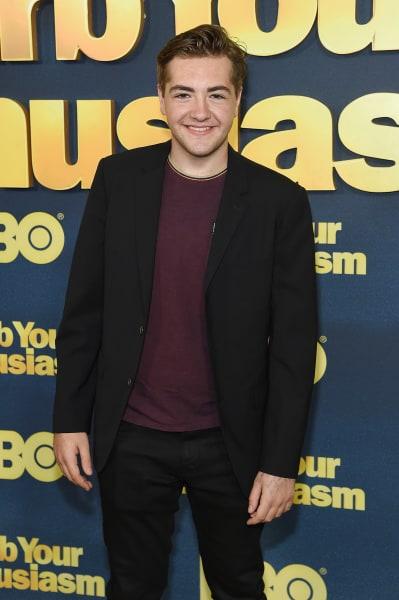 Michael Gandolfini attends the 'Curb Your Enthusiasm' season 9 Premiere