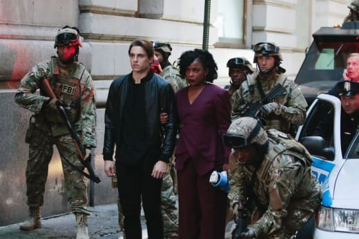 The Stand Off - Quantico
