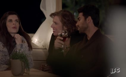 Baroness von Sketch Show Season Finale Clip: The French Exit