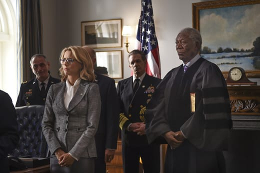 An Unexpected Position - Madam Secretary