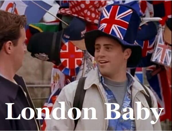 Friends - London, Baby!