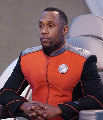 LaMarr in Command - The Orville Season 2 Episode 5