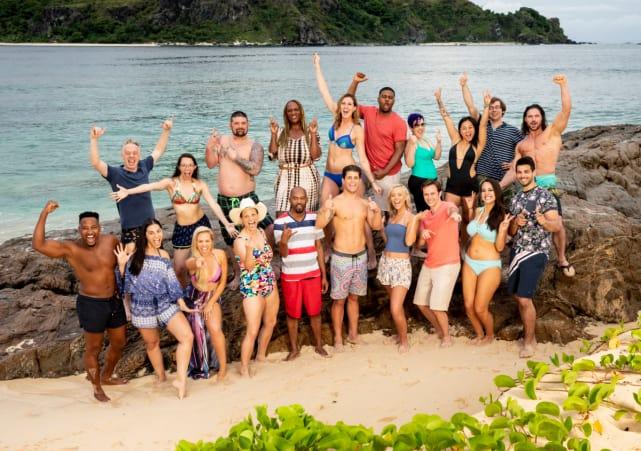 Survivor Season 37 Group Shot