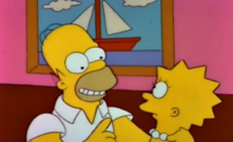 Homer and Lisa Bond