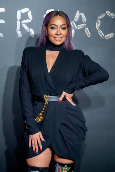 La La Anthony Attends Event