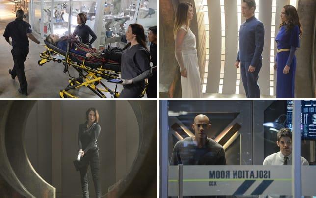Karas wheeled in supergirl season 1 episode 13