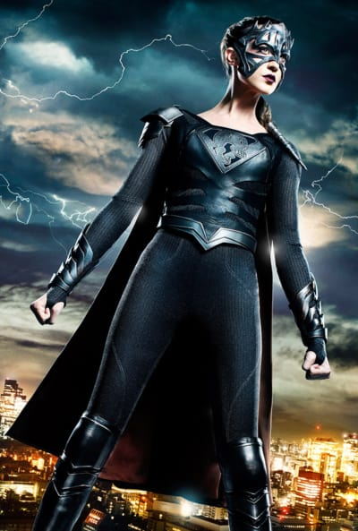 Odette Annable as Reign - Supergirl