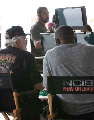 Behind the Scenes - NCIS: New Orleans Season 5 Episode 24