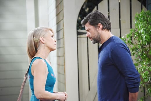 Jennifer and Eric Talk - Days of Our Lives