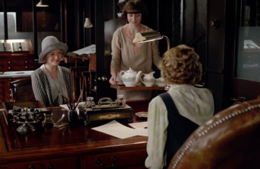 Edmund's Interview - Downton Abbey
