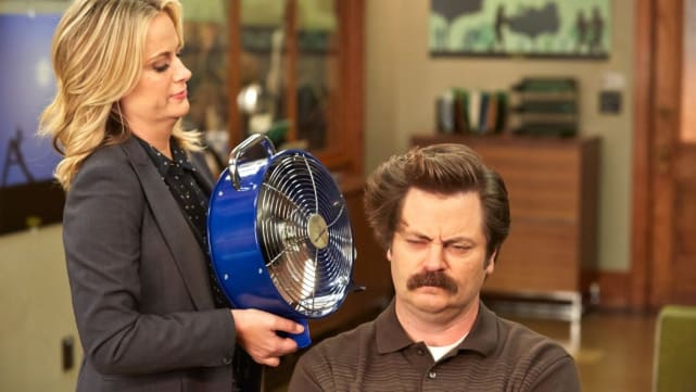 Ron and Leslie - Parks and Recreation