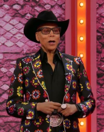 Cowboy Hat - RuPaul's Drag Race All Stars Season 6 Episode 12