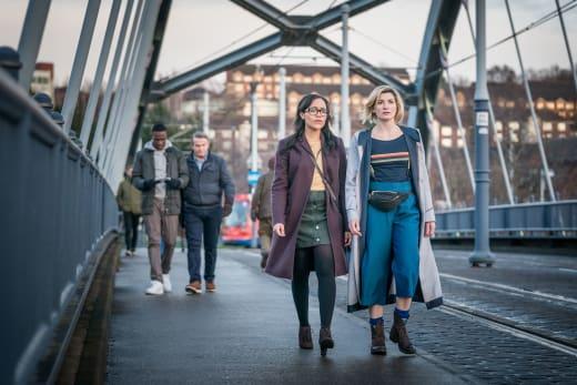 Taking a Walk - Doctor Who Season 11 Episode 4