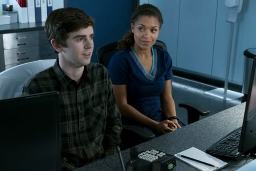 Claire and Shaun - The Good Doctor Season 1 Episode 12