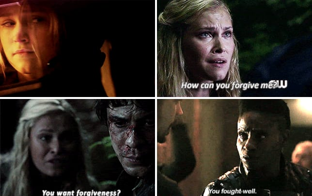 Bellamy and clarke season 4