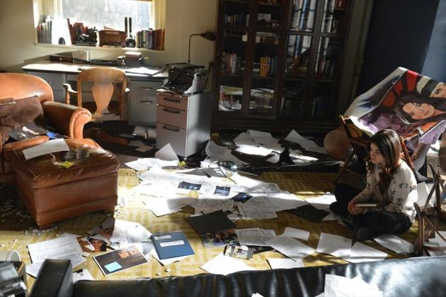 Aria Overwhelmed with Evidence