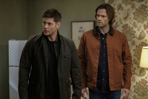 Sam and Dean have arrived - Supernatural Season 12 Episode 19