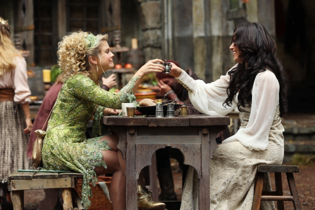 Tinker Bell and Regina - Once Upon a Time Season 3 Episode 3