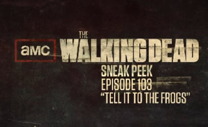"The Walking Dead Clip: ""Tell It to the Frogs"""