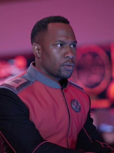 Vertical LaMarr at the Com - The Orville Season 2 Episode 9