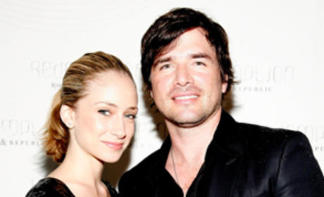 Matthew Settle and Wife