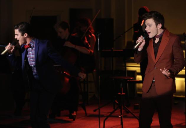 Klaine on Stage