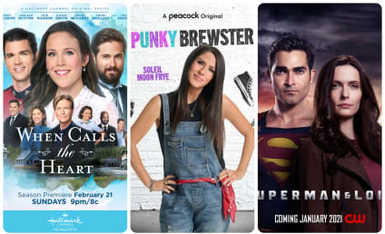 What to Watch: When Calls the Heart, Punky Brewster, Superman & Lois
