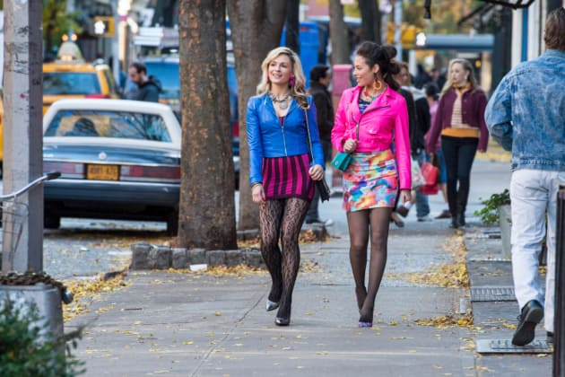Samantha and Donna