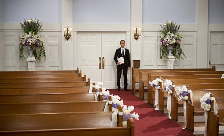 Barney on His Wedding Day