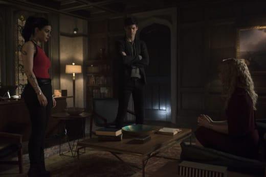 Suspicions  - Shadowhunters Season 3 Episode 15