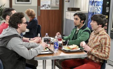 Raj and Howard Seem Concerned - The Big Bang Theory Season 10 Episode 19