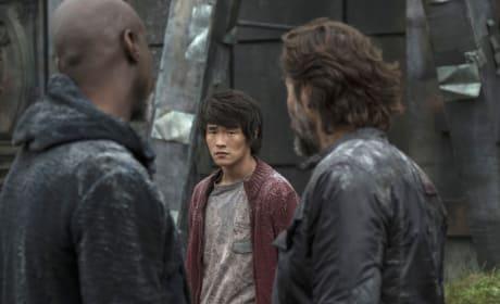 Monty – The 100 Season 4 Episode 6