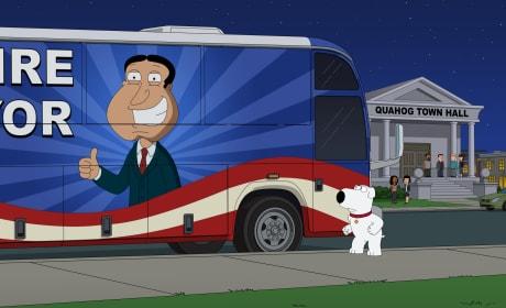 Running For Mayor - Family Guy