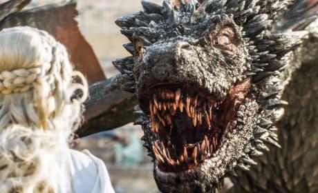 Drogon to the Rescue! - Game of Thrones Season 5 Episode 9