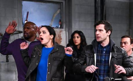 Hands in the Air - Brooklyn Nine-Nine Season 6 Episode 18