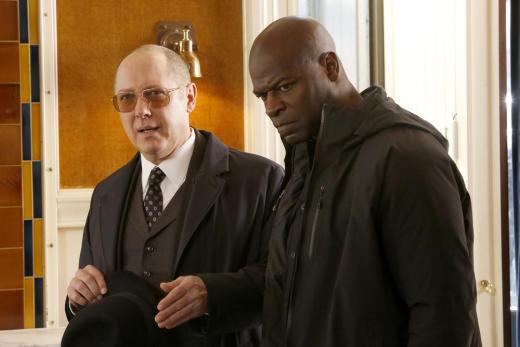 Dembe looks pissed - The Blacklist Season 4 Episode 19