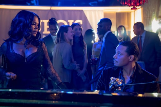 Giuliana comes face to face with Lucious - Empire Season 3 Episode 13