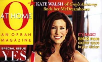 At Home With the Lovely Kate Walsh