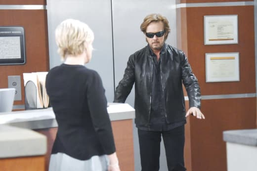 Steve Goes Blind - Days of our Lives