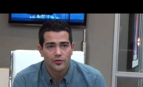 Jesse Metcalfe Set Interview