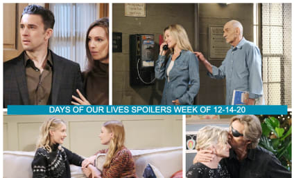 Days of Our Lives Spoilers Week of 12-14-20: A Not-So-Happy Holiday Season