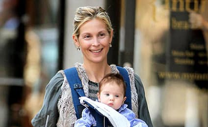 Spotted: Kelly Rutherford and Helena!