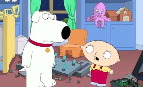 Brian with Stewie
