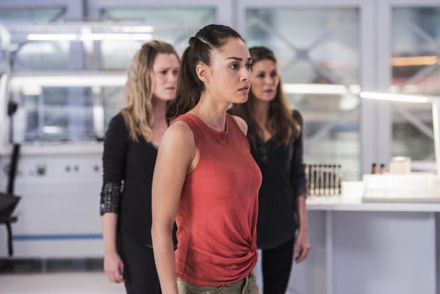 Raven's Brain — The 100 Season 4 Episode 8