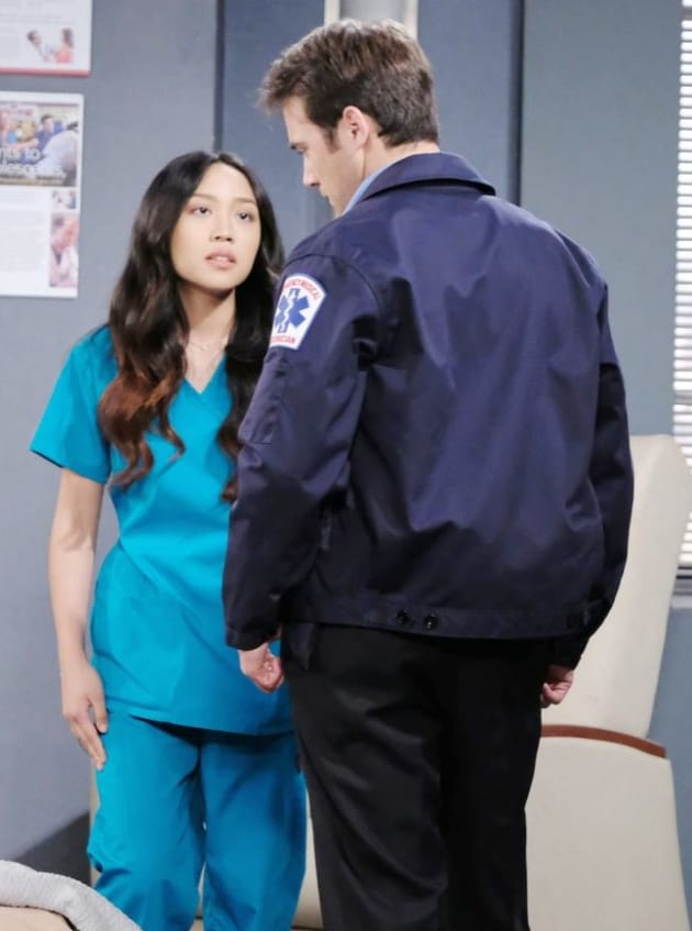 Trying to Help - Days of Our Lives
