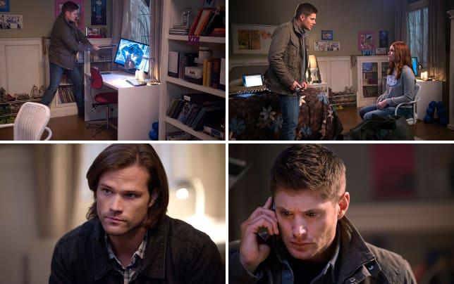 Dean breaking computers supernatural season 10 episode 13