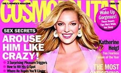 Katherine Heigl in February Issue of Cosmopolitan
